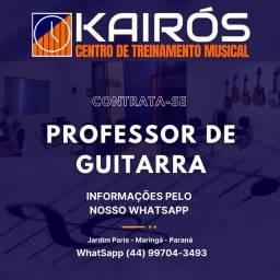 Título do anúncio: Professor de Guitarra
