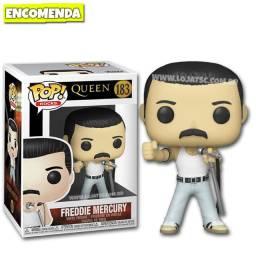 Funko Pop Freddie Mercury Queen Bohemian Rhapsody - Entrega Gratis!
