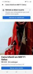 Título do anúncio: Cama Infantil em MDF F1 Gelius
