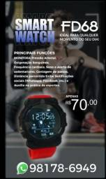 Título do anúncio: Relógio inteligente FD68