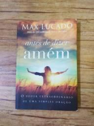 ANTES DE DIZER AMÉM MAX LUCADO