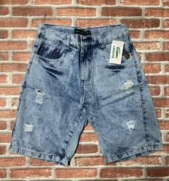 Título do anúncio: Bermudas jeans..