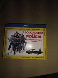 Coleção completa Loucademia de Polícia Os 7 filmes dublados