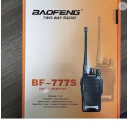 Título do anúncio: Rádio Comunicador Baofeng Two-Way Bf-777S + Fone de Ouvido Novo