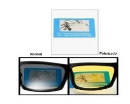 óculos de sol polarizado e com protecão Uv 400