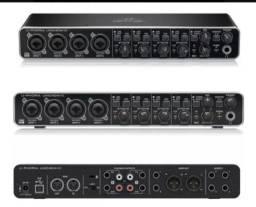 Título do anúncio: Interface de áudio Behringer UMC-404HD