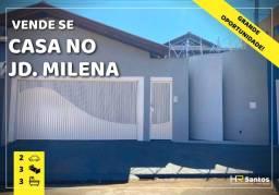Título do anúncio: Casa no Jd. Milena  cod 861