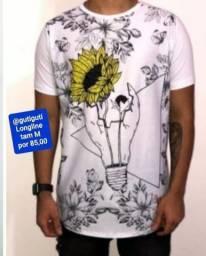 Camisa Longline R$:85 cada