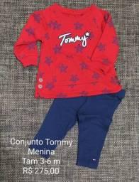 Conjunto Moletom Importado Tommy - menina