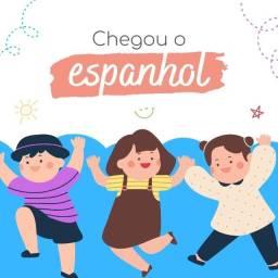Título do anúncio: espanhol infantil online