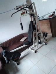 Título do anúncio: Estação musculação com bicicleta, steeper
