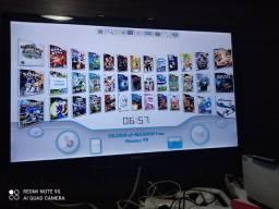 Título do anúncio: Nitendo Wii com HD 500 gigas com 100 jogos, oportunidade.