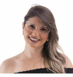 Título do anúncio: Óculos armação cristal lapidado