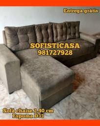 Título do anúncio: SOFA NOVOS, CONFORTÁVEIS, PRONTA ENTREGA E ENTREGA GRÁTIS!!!!