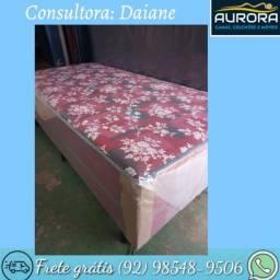 Título do anúncio: cama box solteiro \\ espuma \\