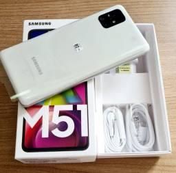 Título do anúncio: Samsung M51, zero. Só venda