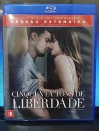 Blu-ray Cinquenta tons de cinza e de Liberdade