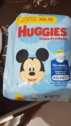 Título do anúncio: Fralda Huggies XG 66 unidades