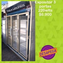 Título do anúncio: EXPOSITOR 3 portas
