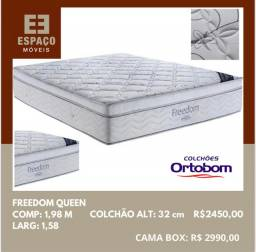 Título do anúncio: Colchão Freedom Queen #Entrega Gratis