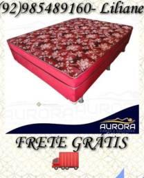 Título do anúncio: cama casal \\ espuma\ frete gratis\\