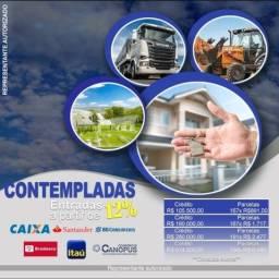 Título do anúncio: Contempladas para imóveis, capital de giro, terrenos entre outros!