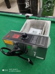 Título do anúncio: Fritadeira elétrica 5LT 220V 3000V IPX3-50-60HZ marca EDanca