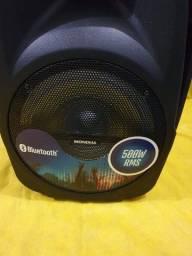Título do anúncio: Caixa de Som Mondial CM500 bateria + Nota + Garantia