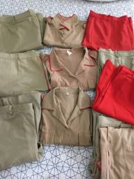 Kit uniforme Colégio Militar de Manaus (CMM)