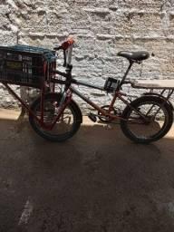 Bicicleta adpitada pra carga 350
