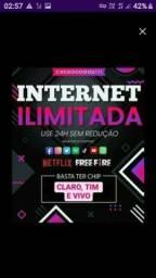 Título do anúncio: Internet movel ilimitada para celulares