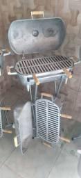 Churrasqueira alumínio