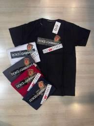 Título do anúncio: Camiseta Dolce e Gabbana