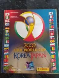 Álbum Copa do Mundo de 2002 completo.