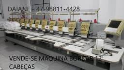 Título do anúncio: Máquina de bordar 12 cabeças