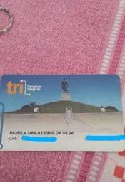 Título do anúncio: Alugo cartão TRI