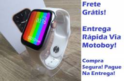 SmartWatch de Pulso (Iwo W26 Tela Infinita) - Qualidade Top! Frete Grátis!