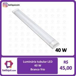 Título do anúncio: Luminária de sobrepor tubular   40 W  