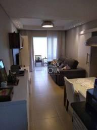 Título do anúncio: Apartamento com 3 dormitórios à venda, 92 m² por R$ 700.000,00 - Ponta da Praia - Santos/S