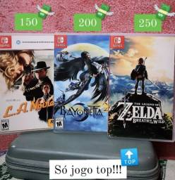 Título do anúncio: Jogos incríveis de Nintendo Switch