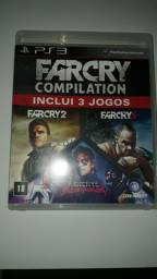 FARCRY COMPILATION INCLUI 3 JOGOS FARCRY3 FARCRY 2  FARCRY3 BLOOD DRAGON (PARA PS3)