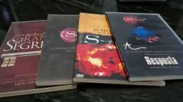 Quatro cópias da coleção DVDs  O Segredo