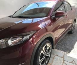 Honda HR-V LX 2018 Automático Vermelho Baixa KM Impecável
