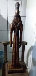 Escultura em  Madeira  da Imagem de São Francisco de Assis