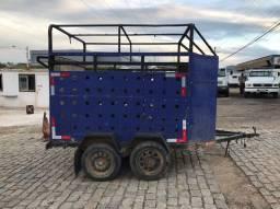 Carreta para transporte cavalos Wagner caminhões