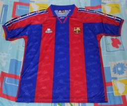 Título do anúncio: Camisa Barcelona Ronaldo década 90