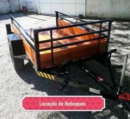 Aluguel e Locaçao de Reboques e carretinhas, usado comprar usado  São José