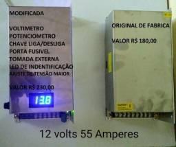 Carregador bateria - 12 volts 55 amperes - 2018