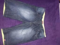 05 bermuda jeans várias cores