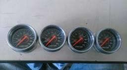 Vendo manômetro de suspensão a ar